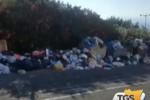 Strade invase dai rifiuti, a Messina è emergenza