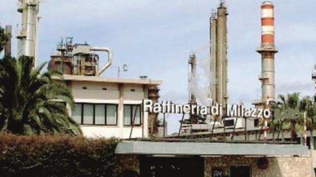raffineria milazzo, Messina, Economia
