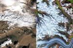 Il riscaldamento globale cambia la faccia della Terra: ecco come nelle foto della Nasa