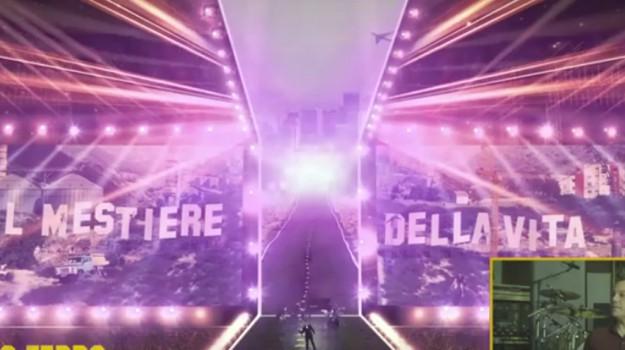 Tiziano Ferro svela il palco del nuovo tour: così al San Filippo di Messina