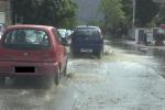 Acquazzone su Palermo, qualche allagamento in via Crispi e a Mondello