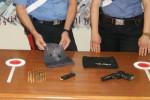 Aveva in casa pistola e munizioni, arrestato 29enne a Bagheria