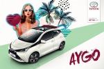 Toyota Aygo, debutta su X-Wave tetto bordeaux e Safety Sense