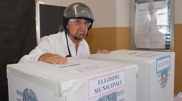 amministrative, comunali, forza italia, m5s, pd, Beppe Grillo, Matteo Renzi, Pierluigi Bersani, Silvio Berlusconi, Sicilia, Politica