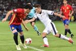 Con un tris di Saul la Spagna elimina l'Italia, ma azzurri a testa alta