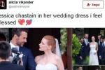 Da Clooney alla Chastain, per le star nozze all'italiana/ VIDEO