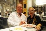 Gli chef-imprenditori Batali e Bastianich