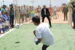 A Lampedusa nasce il nuovo campo di calcio per l'integrazione