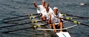 I canottieri del Lauria campioni d'Italia