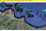Le aree di vigilanza nella costa palermitana