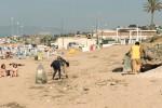 Castellammare, pulizia delle spiagge anche di pomeriggio