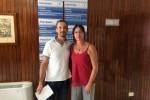Agata Cocco e Antonio La Rosa del Nursind Palermo
