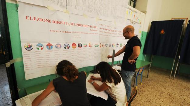 affluenza, comunali, Palermo, Sicilia, Politica