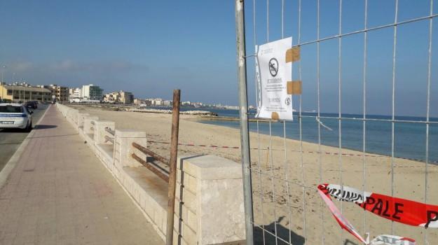 divieto balneazione, fognatura, spiaggia, Trapani, Cronaca