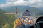 Biplano anni '30 nei cieli del Piemonte