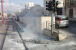 Sassi contro i vetri del tram a Palermo, danni ma nessun ferito