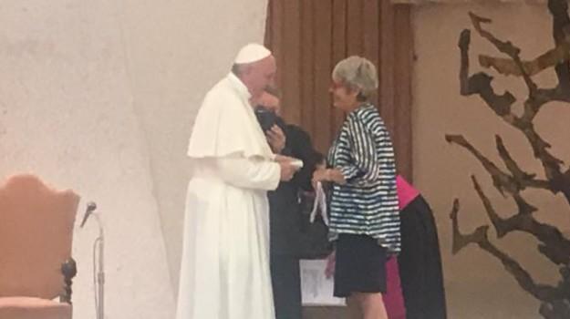 cisl in vaticano, LAVORO, pensioni d'oro, Annamaria Furlan, Papa Francesco, Sicilia, Cronaca