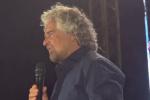 """Grillo a Palermo: """"Io non voglio governare ma amministrare"""""""
