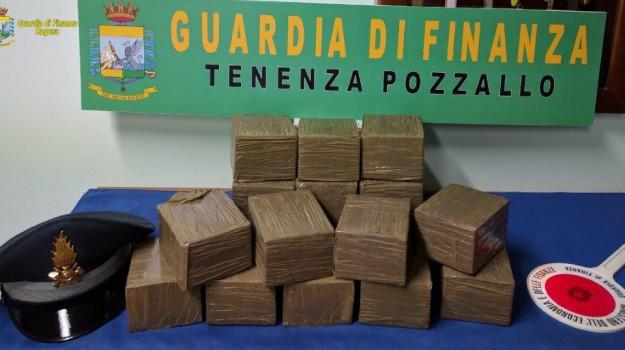 arresto, hashish, pozzallo, Ragusa, Cronaca