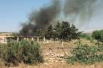 Marsala, discarica brucia per ore: protestano gli abitanti