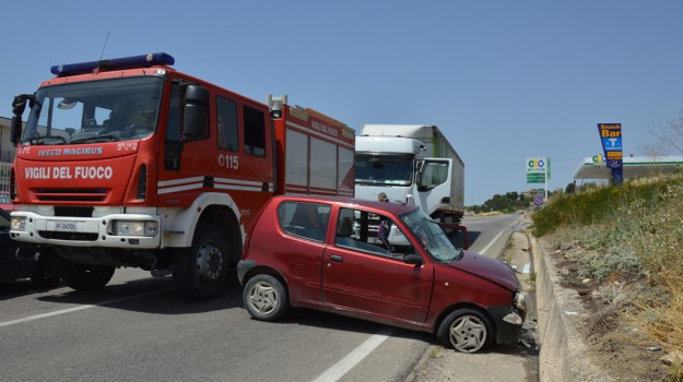 incidente castrofilippo, Agrigento, Cronaca