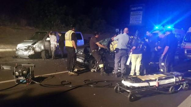 incidente sulla Palermo-Agrigento, svincolo per Misilmeri, Palermo, Cronaca