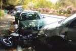 Incidente nella Valle dei Templi: scontro auto-moto, traffico bloccato