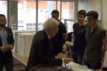 Il presidente Mattarella al voto