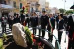 A Villabate monumento in onore dei caduti dei carabinieri