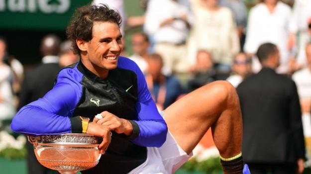 parigi, Roland Garros, Tennis, Rafael Nadal, Sicilia, Sport