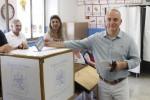 Piero Savona, candidato sindaco di Trapani, al voto