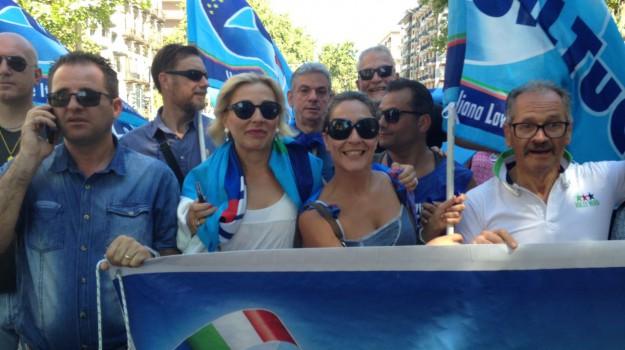 Ksm, PREFETTURA, protesta, Palermo, Economia