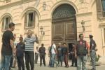Trapani, pescatori in piazza per vendere: blitz e proteste