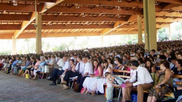 raduno testimoni di geova, Caltanissetta, Cronaca