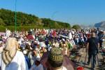 Al Foro Italico musulmani in preghiera per la fine del Ramadan - Foto