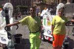 Rap, nuovi aspiratori elettrici per pulire le strade - Video