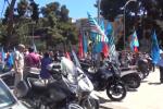 Rinnovo del contratto, protestano 3 mila regionali - Video