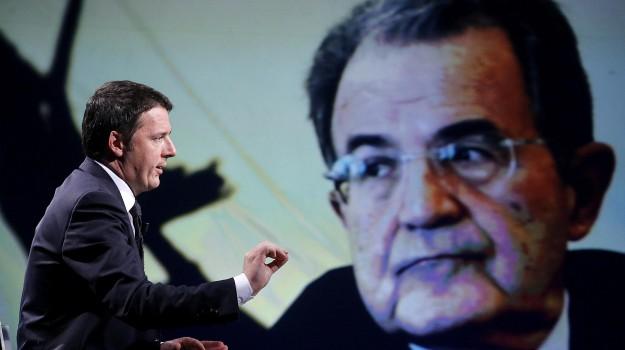 direzione pd, partito democratico, Matteo Renzi, Romano Prodi, Sicilia, Politica