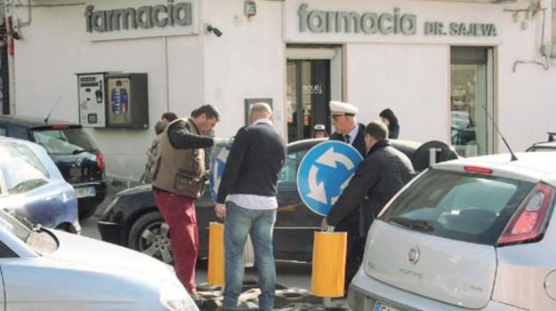 favara, rotonda, Agrigento, Cronaca
