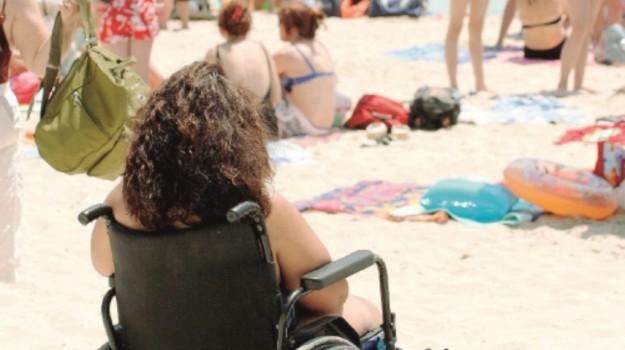 agrigento, disabili, spiagge, Agrigento, Cronaca