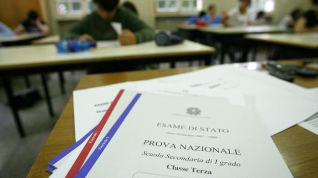 esami terza media, Sicilia, Società