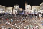 Panico in piazza San Carlo durante la finale di Champions, otto arresti a Torino