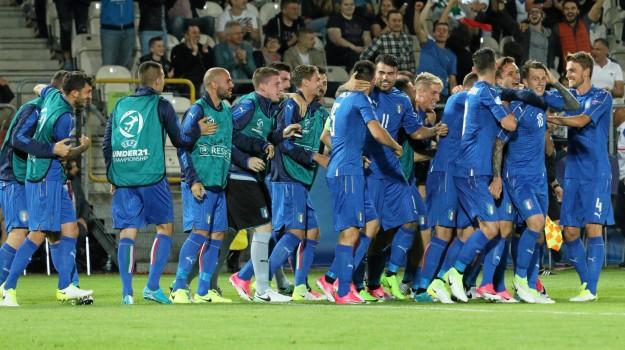 Calcio, europei, nazionale, under 21, Sicilia, Sport