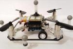 Il prototipo di uno dei droni multiuso costruiti nel Mit (fonte: Brandon Araki/MIT CSAIL)