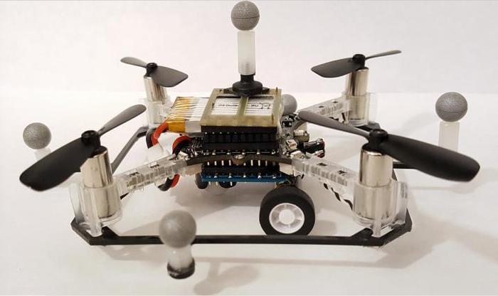 Pronti i primi droni multiuso con ali e ruote giornale di sicilia