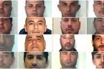 Mafia, blitz a Catania: nomi e foto degli arrestati