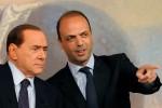 """Alfano a Berlusconi: """"Ripartiamo dalla Sicilia, insieme si può vincere"""""""
