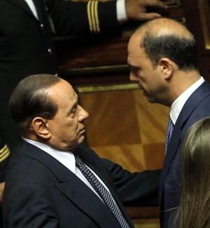 """Berlusconi: """"Alfano? Quando era con me tifava Milan, poi l'ho scoperto juventino"""""""