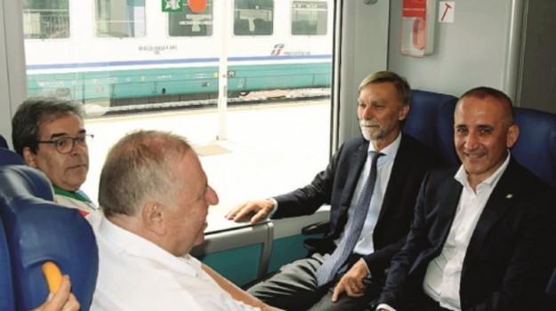 linea ferroviaria ognina, Graziano Delrio, Catania, Economia