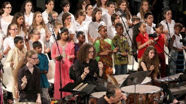 massimo kids orchestra, Teatro Verdura palermo, Palermo, Cultura